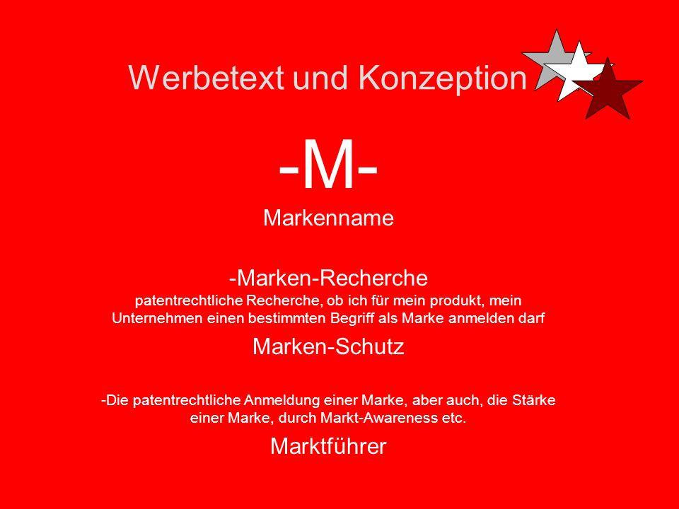 Werbetext und Konzeption -M- Merchandising 1. Als Verkaufsförderung (Sales Promotion) werden innerhalb der Kommunikationspolitik im Marketing alle Akt