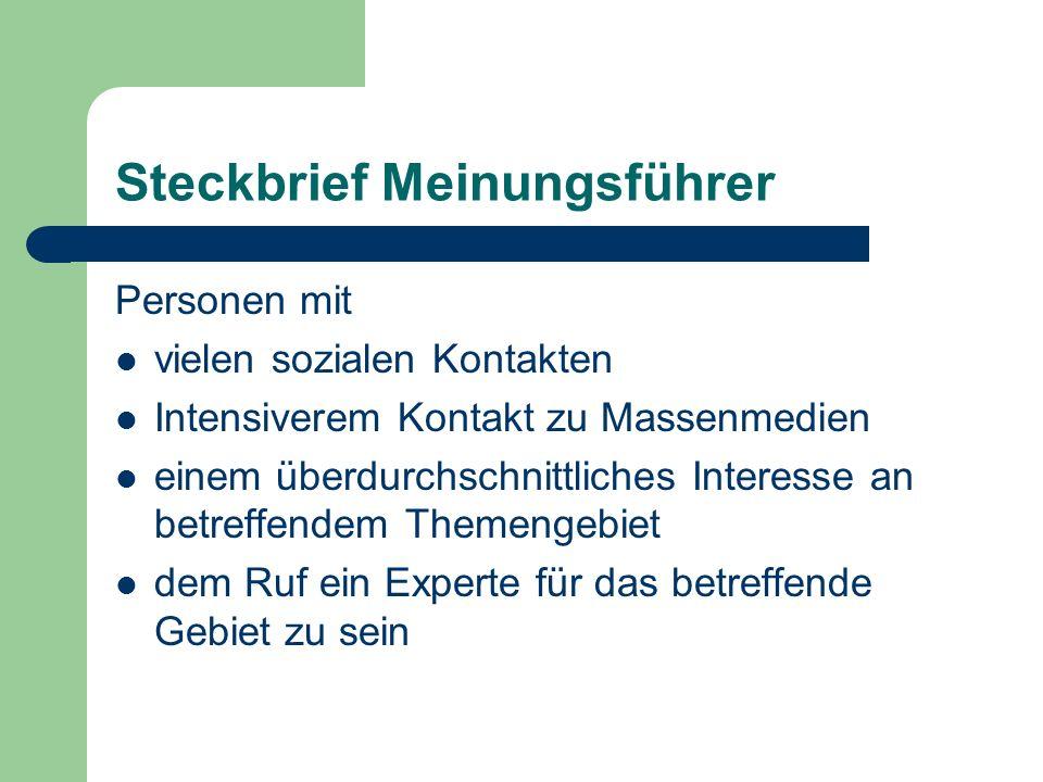 Du bist Deutschland - neue Meinungsführer.