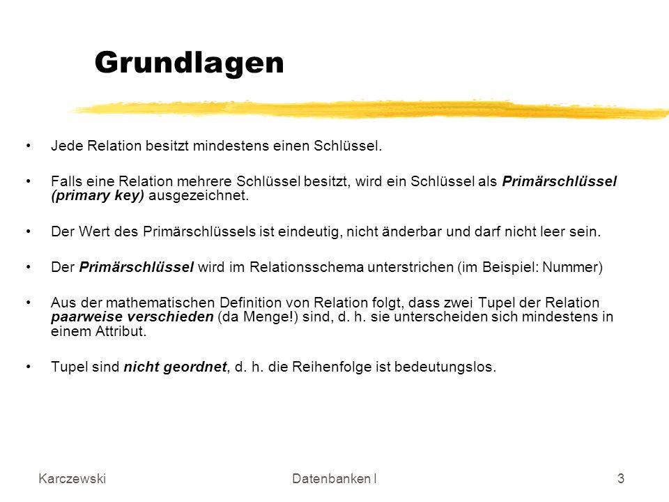 KarczewskiDatenbanken I54 Gesamtlösung Töpferprodukt Markt_2 Prod-Nr Verkaufsmarkt marktspez.Preis 11022 Internat.