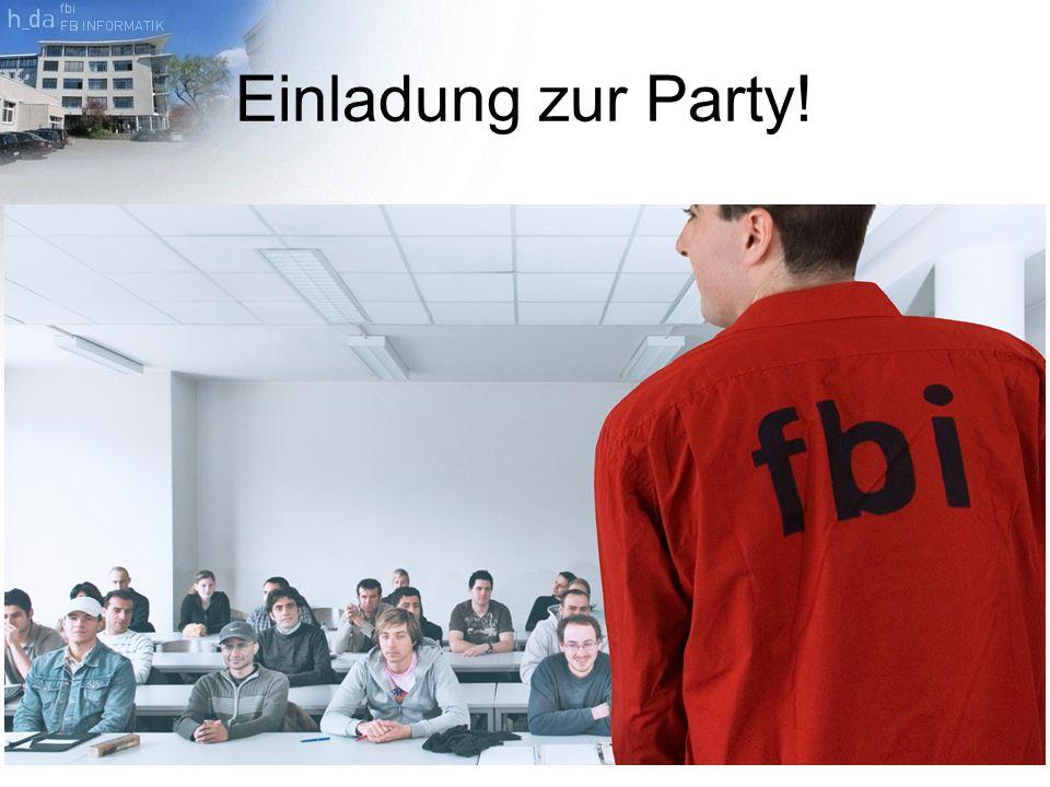 Einladung zur Party!