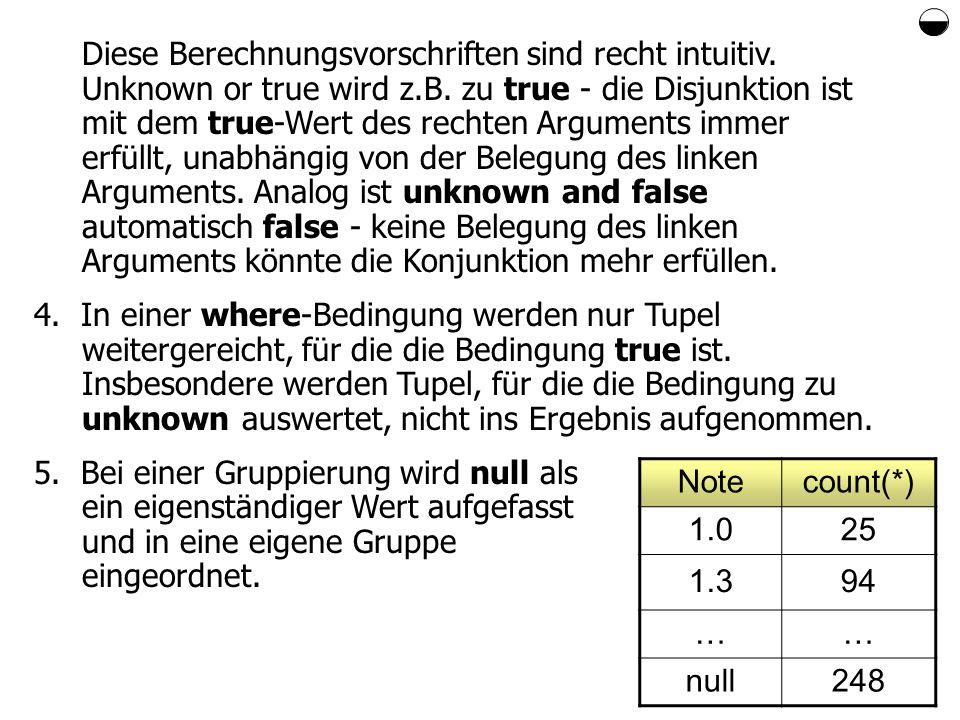 Diese Berechnungsvorschriften sind recht intuitiv.