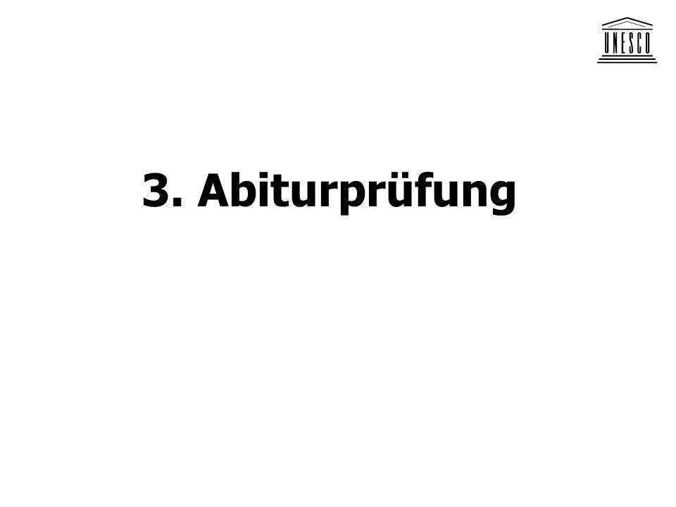 3. Abiturprüfung