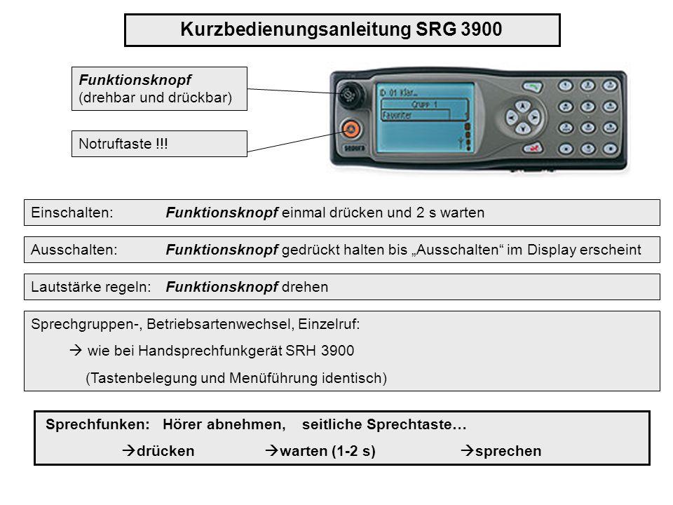 Einzelrufe sind im TMO und DMO möglich.
