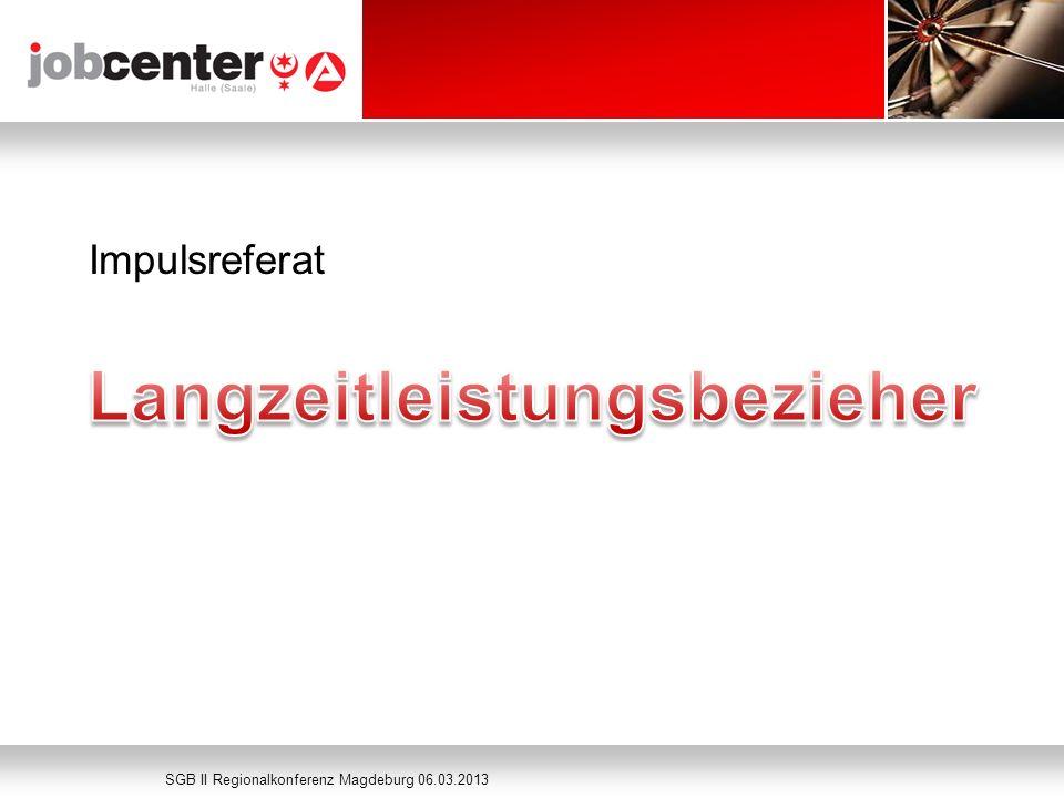 Seite 743 Impulsreferat SGB II Regionalkonferenz Magdeburg 06.03.2013