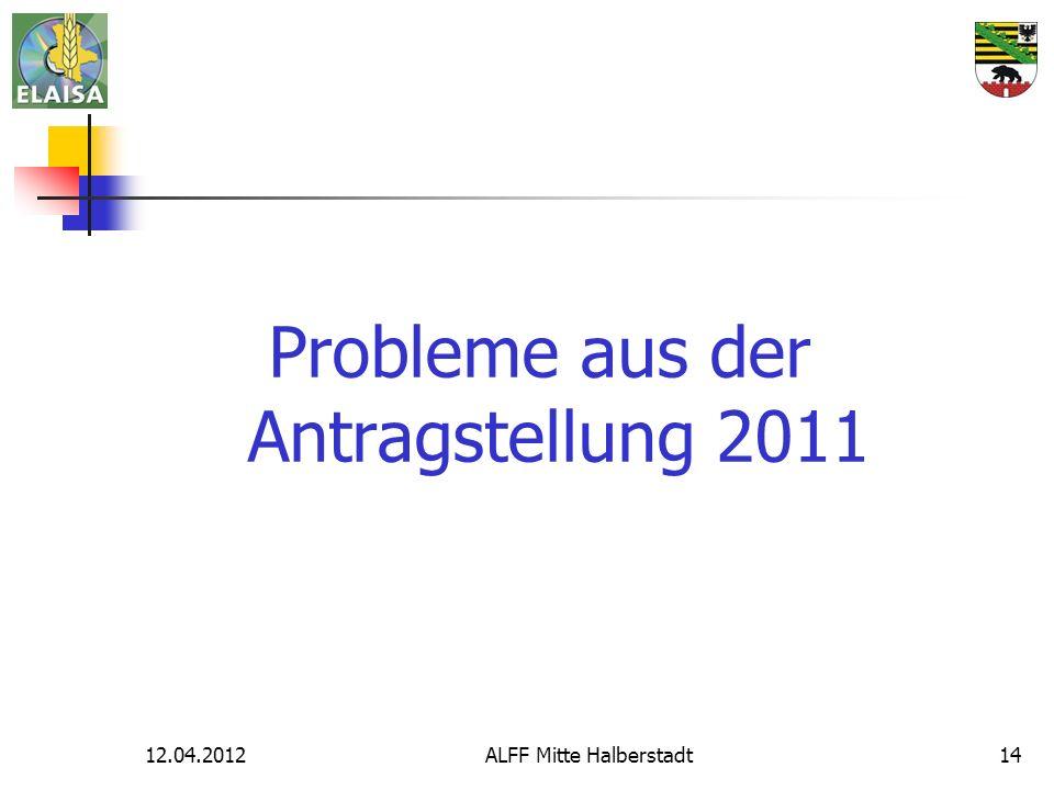12.04.2012ALFF Mitte Halberstadt14 Probleme aus der Antragstellung 2011