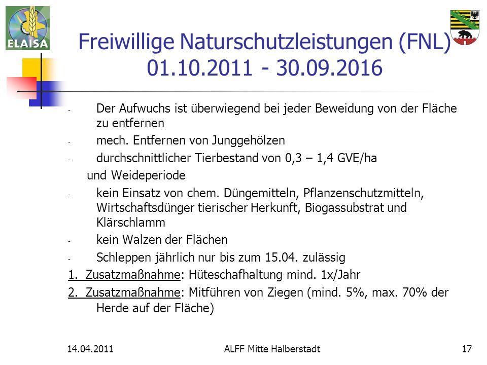 14.04.2011ALFF Mitte Halberstadt17 - Der Aufwuchs ist überwiegend bei jeder Beweidung von der Fläche zu entfernen - mech. Entfernen von Junggehölzen -