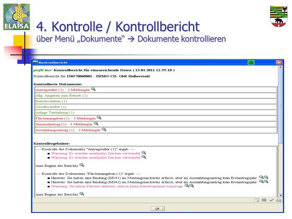 14.04.2011ALFF Mitte Halberstadt17 4. Kontrolle / Kontrollbericht über Menü Dokumente Dokumente kontrollieren