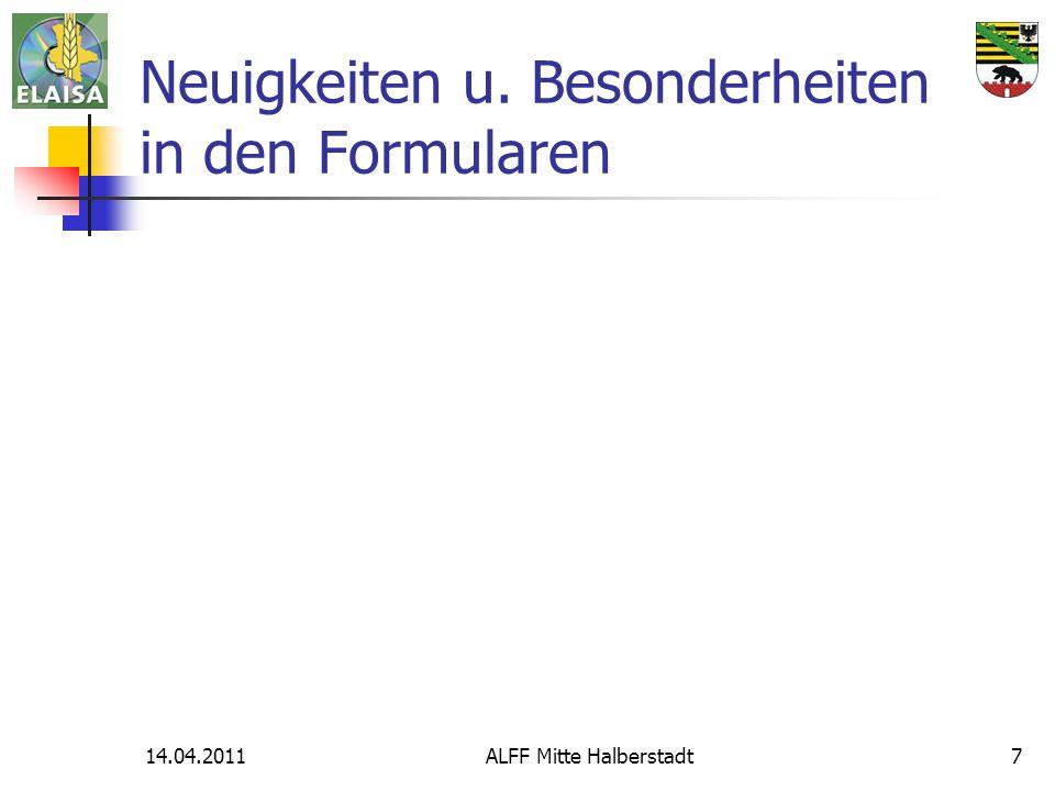 14.04.2011ALFF Mitte Halberstadt7 Neuigkeiten u. Besonderheiten in den Formularen