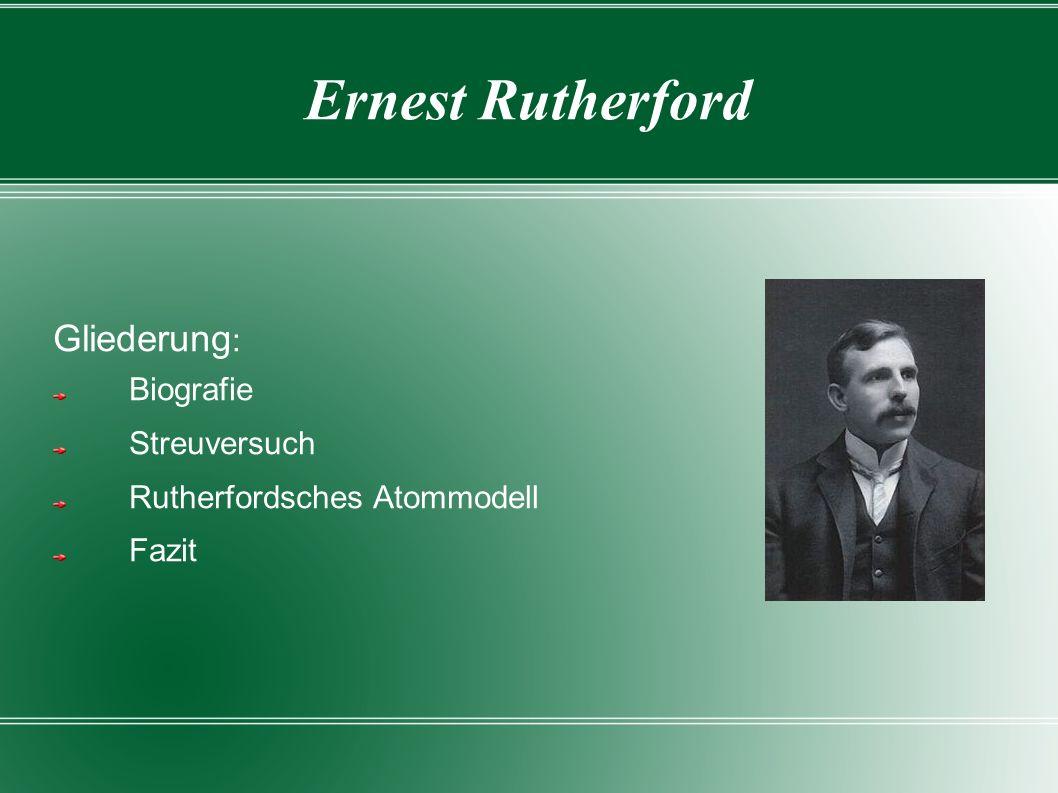 Biografie 30.August 1871 in Neuseeland geboren 30.