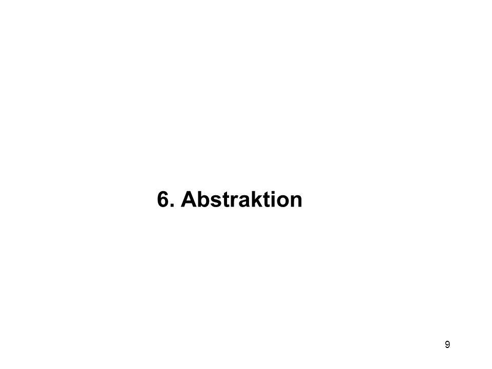 9 6. Abstraktion