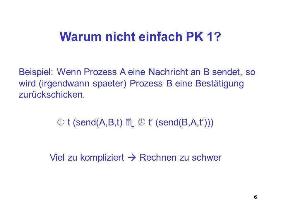 6 Warum nicht einfach PK 1.