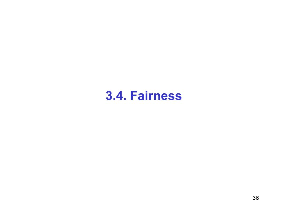 36 3.4. Fairness