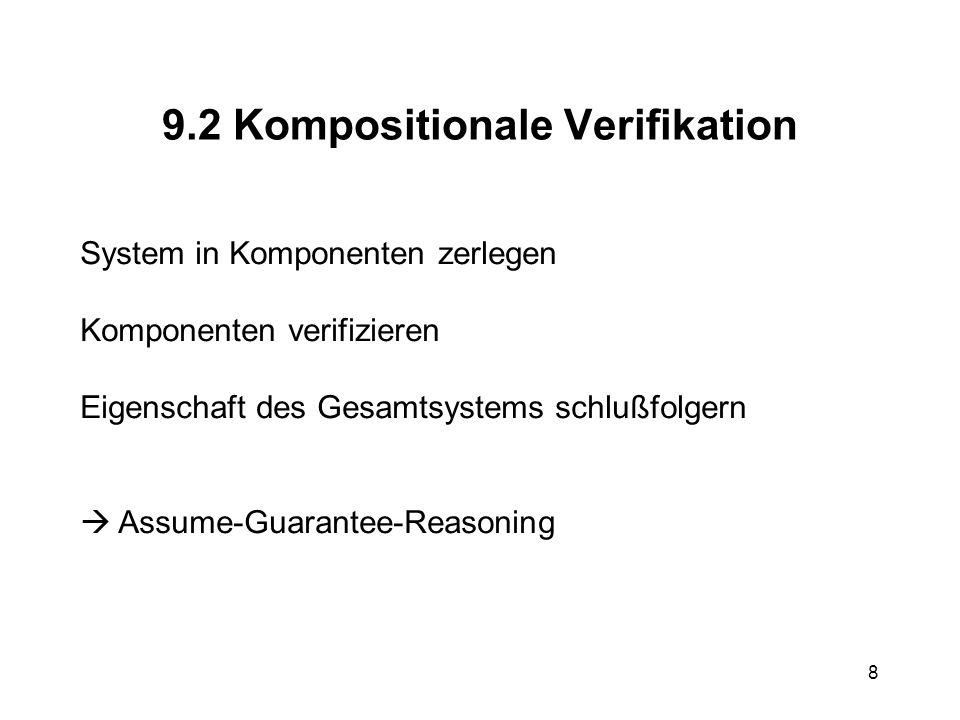 19 Beispiel 2 A B: A B A: N B A B: {N B } KAS B S: {A,{N B } KAS } KBS S B {N B } KBS Attacke: C B : A C B: C B A(C): N B B C: N B C B: {N B } KCS B S:{A,{N B } KCS } KBS B S: {C,{N B } KCS } KBS S B:{N B } KBS S B: error