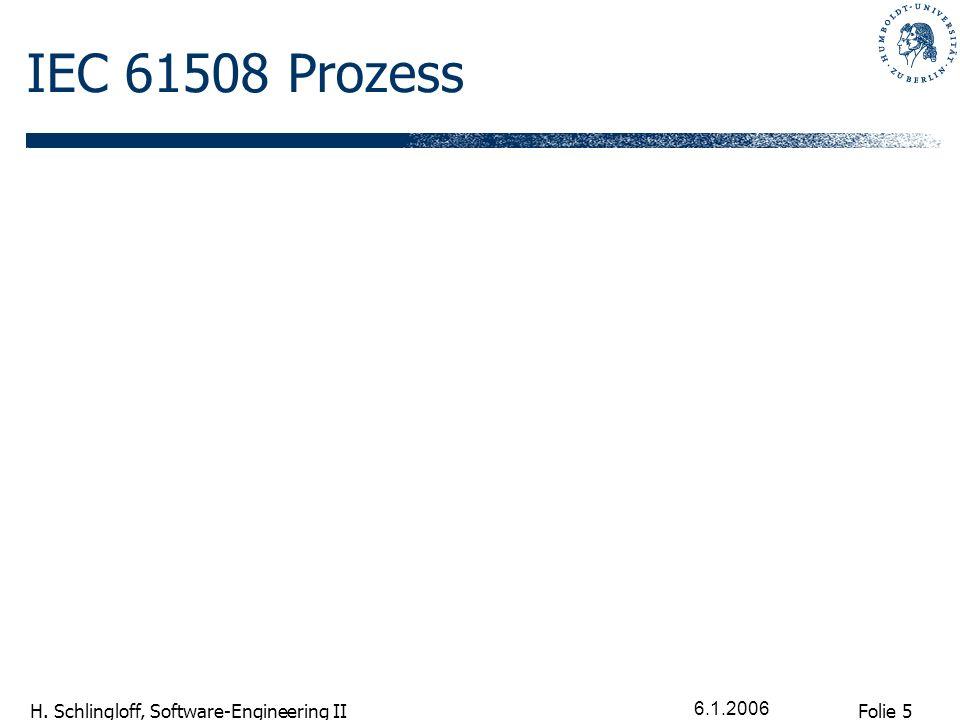 Folie 16 H. Schlingloff, Software-Engineering II 6.1.2006 weiterer Aufbau der Forderungen