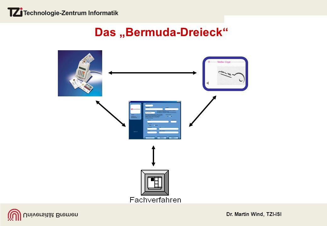 Dr. Martin Wind, TZI-ISI Das Bermuda-Dreieck