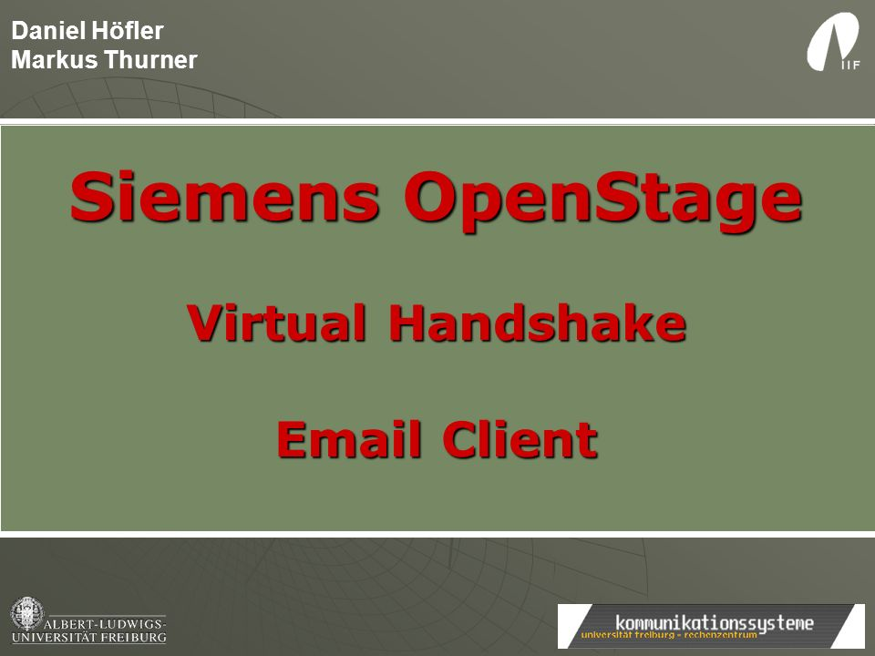 XML-API GET http://192.168.1.100:8085/Siemens/EmailManager?ipaddress=192.168.1.100&phonenumber=1234 HTTP/1.1 <IppDisplay> Email (pop@daniel-hoefler.de): Email (pop@daniel-hoefler.de): http://127.0.0.1:8085/Siemens/EmailManager http://127.0.0.1:8085/Siemens/EmailManager......