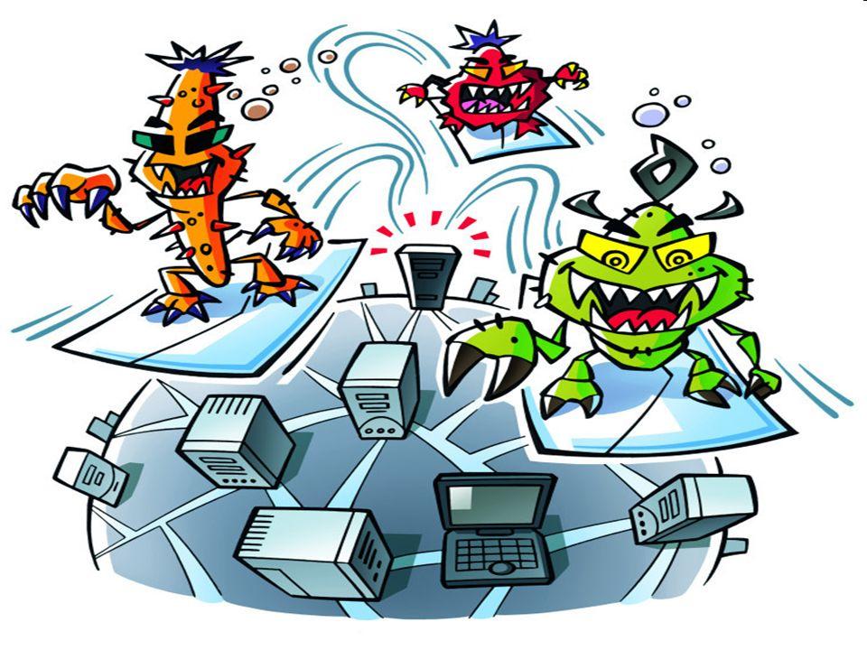 -In der harmlosesten Stufe sind Viren nur lästig oder stiften Verwirrung.