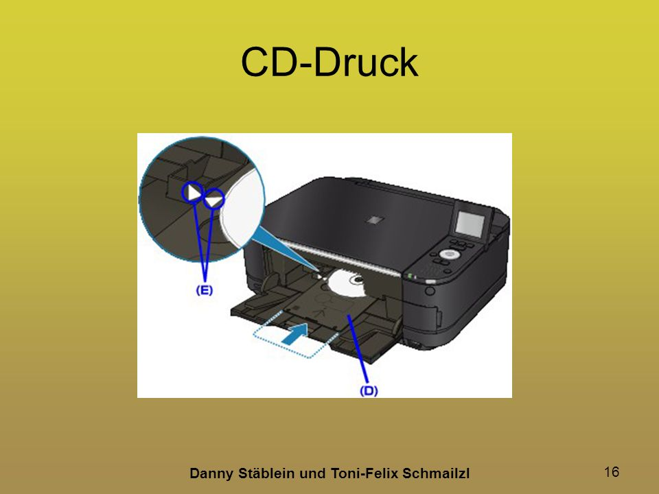 Danny Stäblein und Toni-Felix Schmailzl 16 CD-Druck
