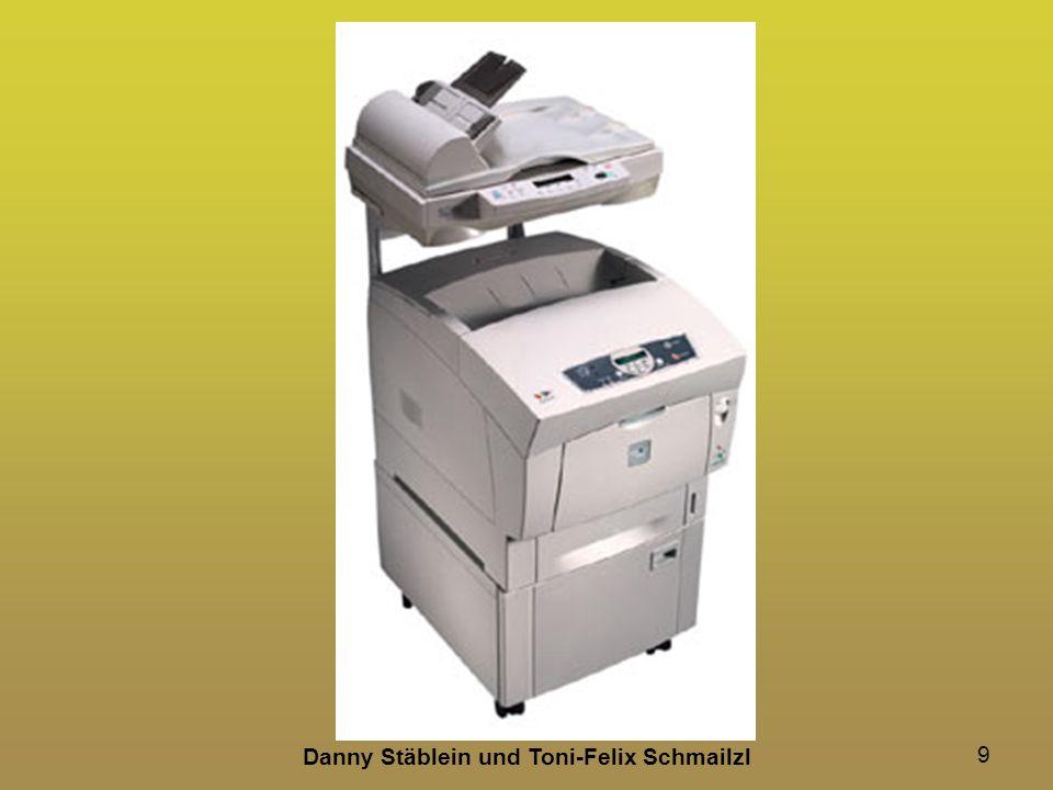 10 Funktionen von Multifunktionsgeräten Ethernet und WLAN beidseitiges Drucken CD-Druck Direkt-Druck Scannen, Kopieren und Faxen mehrere Papierfächer