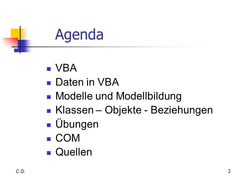 3 Agenda C.O.