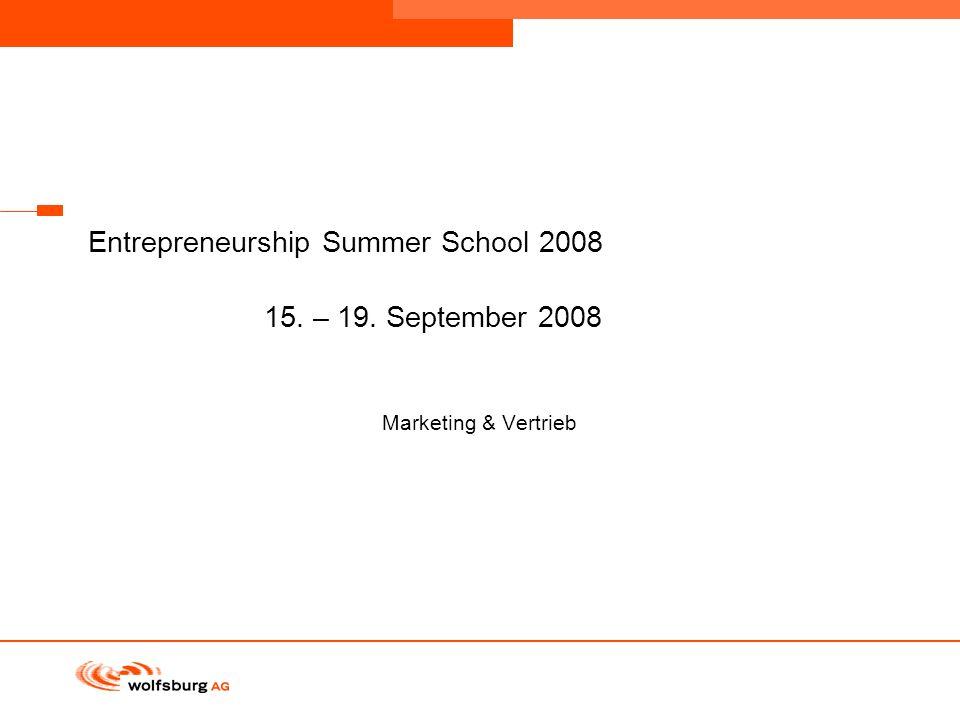 Navigationsleiste Aktueller Eintrag wird rot hervor- gehoben Navigationsleiste weiter Entrepreneurship Summer School 2008 15. – 19. September 2008 Mar