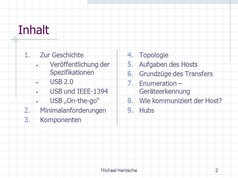 Michael Hentsche2 Inhalt 1.
