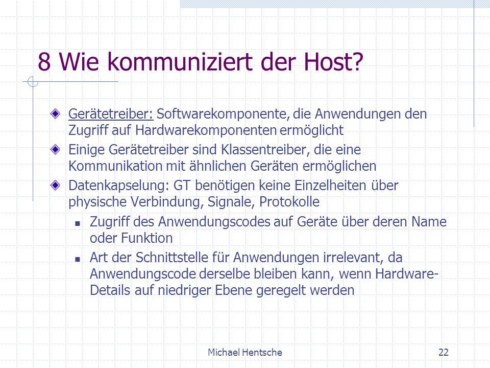 Michael Hentsche22 8 Wie kommuniziert der Host.