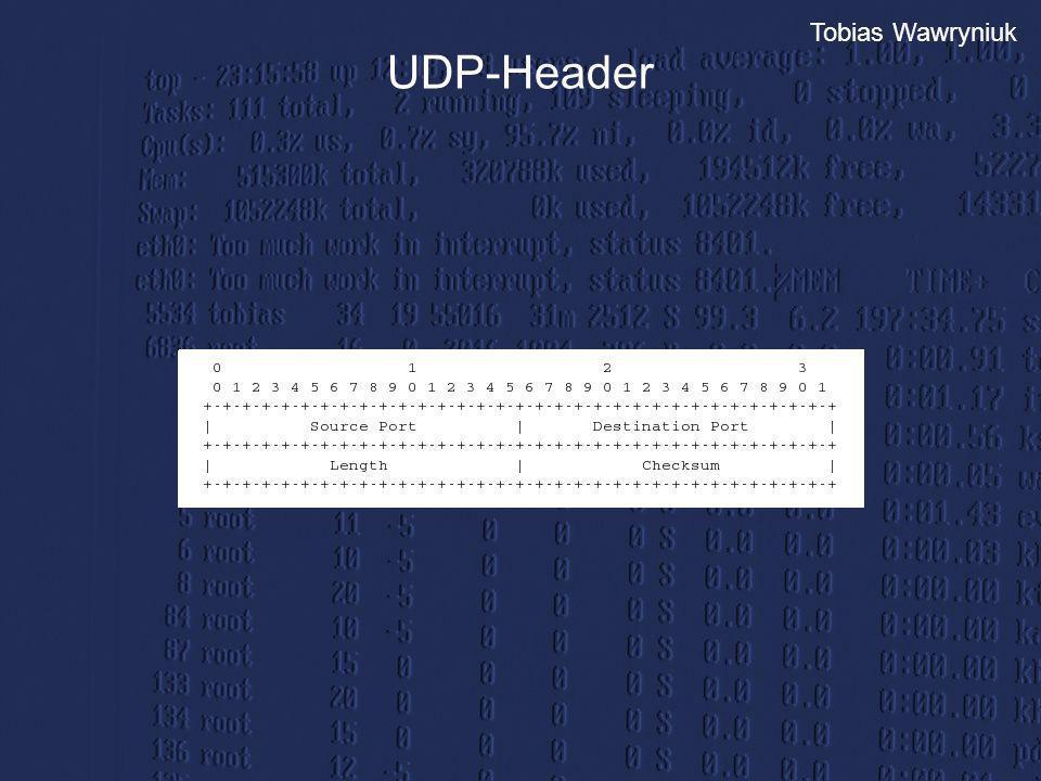 Tobias Wawryniuk UDP-Header