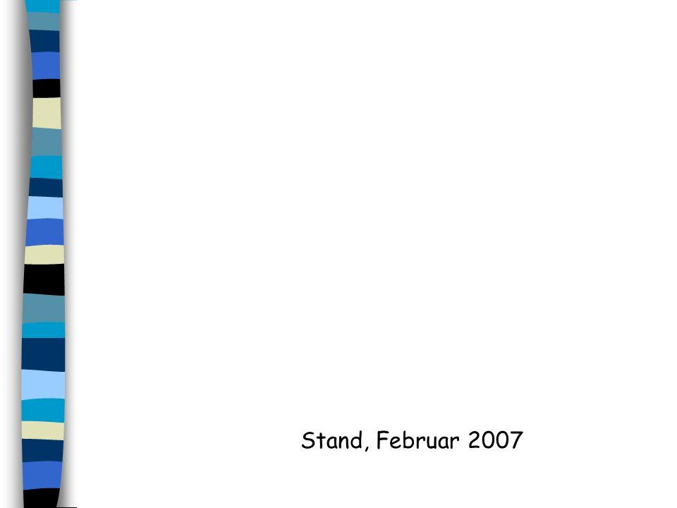 Stand, Februar 2007