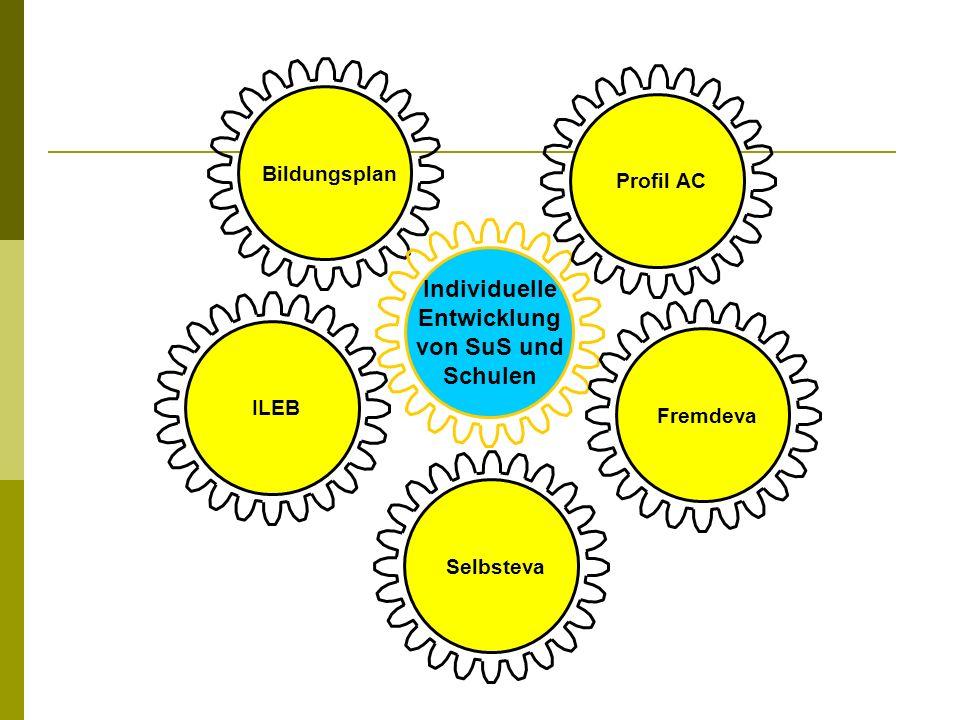 Bildungsplan Individuelle Entwicklung von SuS und Schulen ILEBFremdevaSelbstevaProfil AC