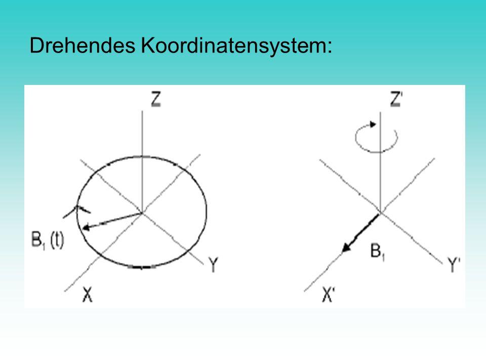 Drehendes Koordinatensystem: