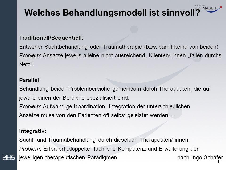 4 Welches Behandlungsmodell ist sinnvoll.