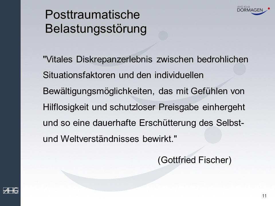 10 Posttraumatische Belastungsstörung PTBS - Posttraumatische Belastungsstörung PTSD - Post Traumatic Stress Disorder
