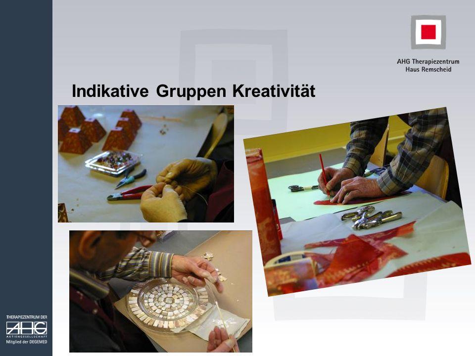 Indikative Gruppen Kreativität