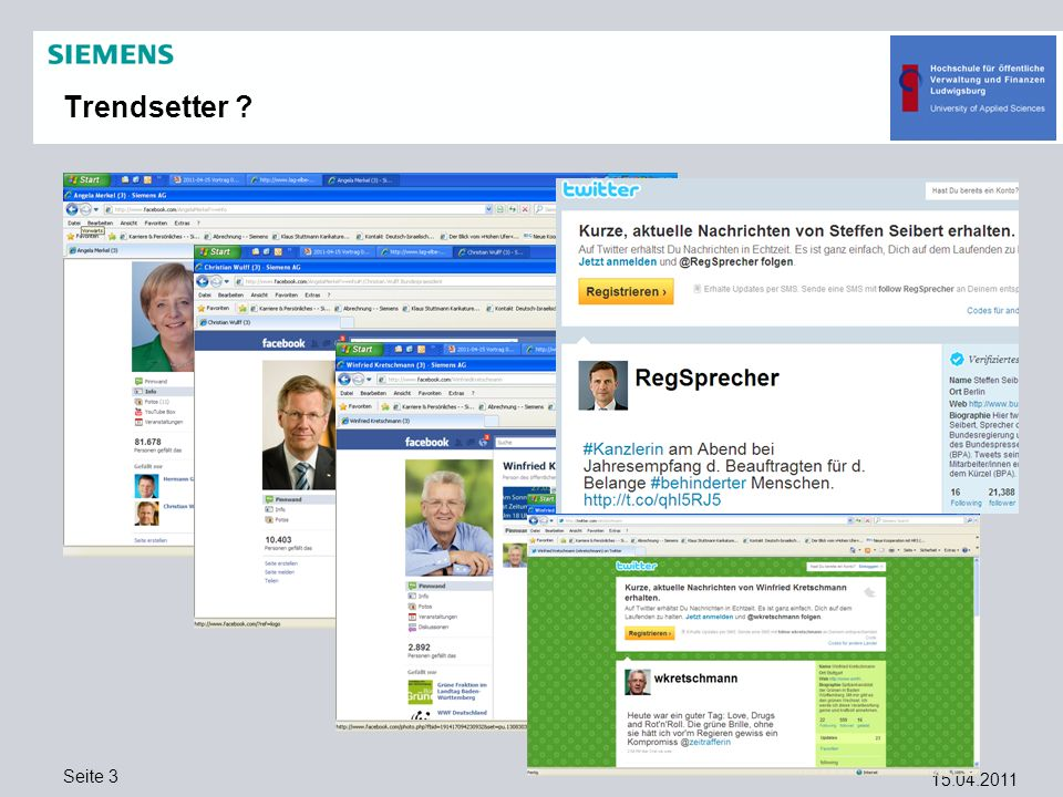 15.04.2011 Seite 14 Was haben Social Networks mit eGov zu tun.