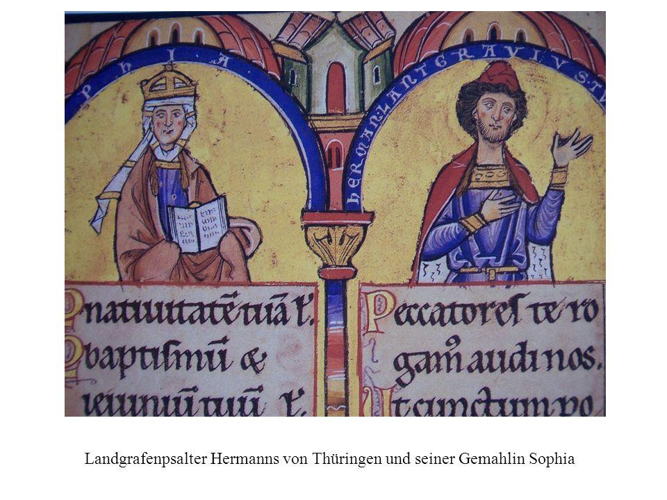 Landgrafenpsalter Hermanns von Thüringen und seiner Gemahlin Sophia