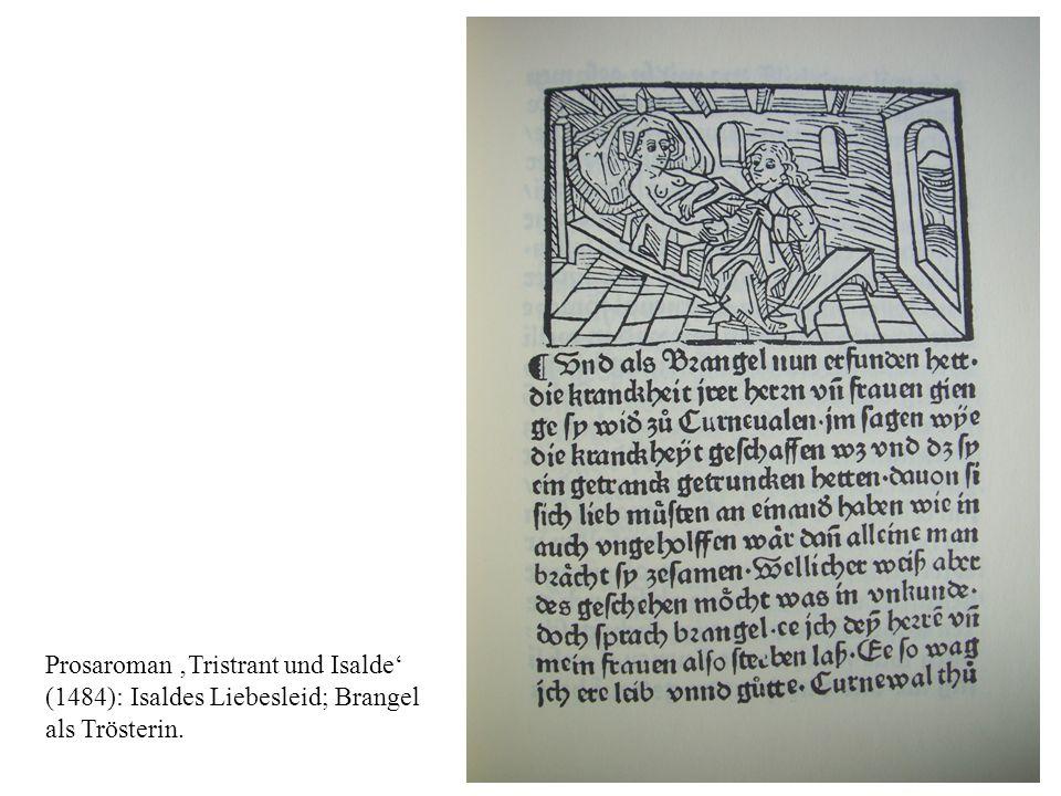 Prosaroman Tristrant und Isalde (1484): Baumgarten