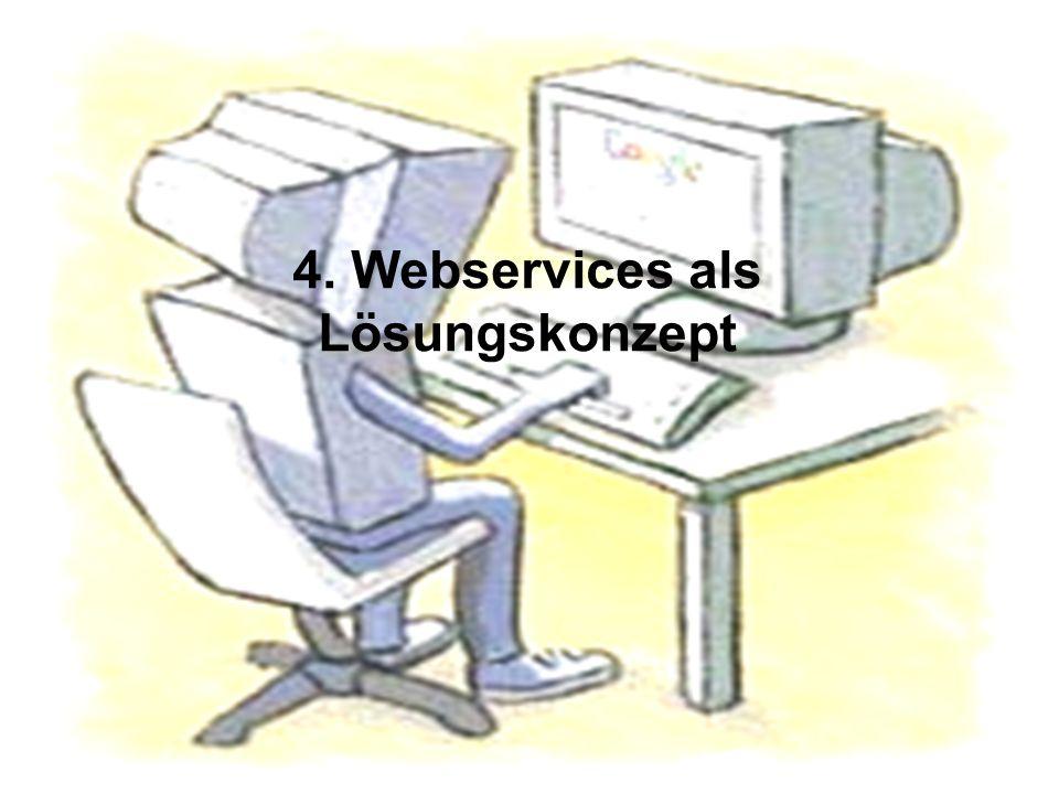 Thorsten Kanzleiter22 4. Webservices als Lösungskonzept