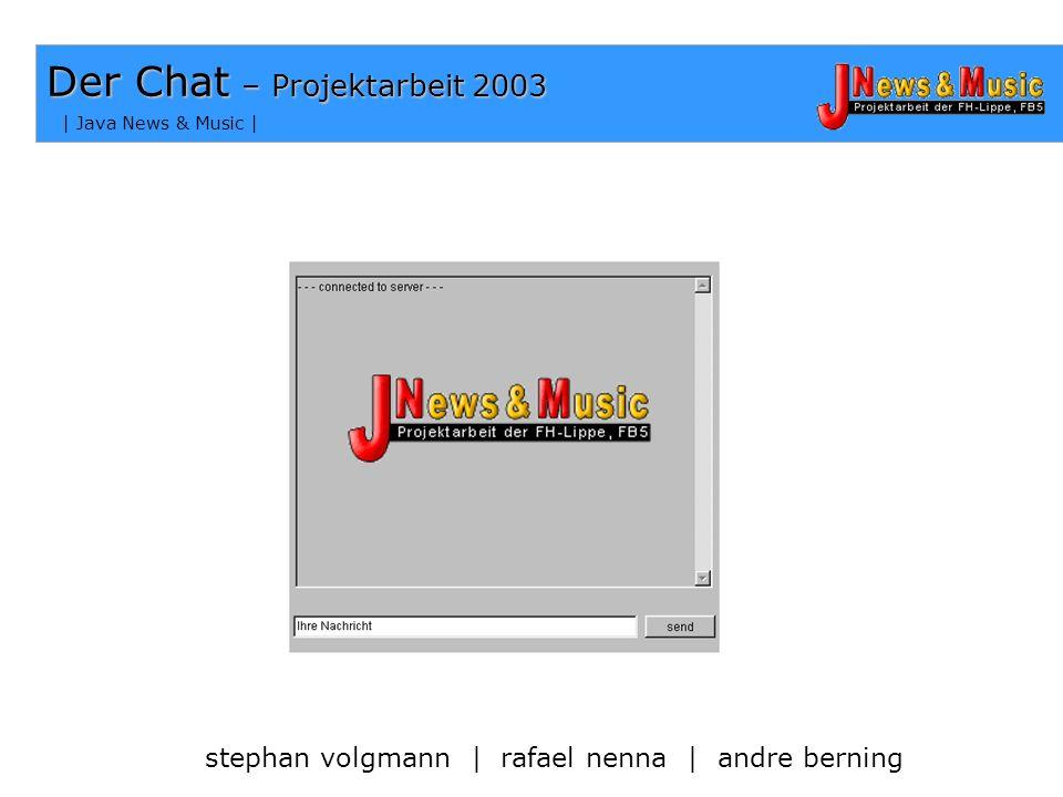 | Java News & Music | How To Use – Die Installation Grundlagen Die Klasse mainmanager muss im gleichen Verzeichnis liegen wie chatplugin und usermanag