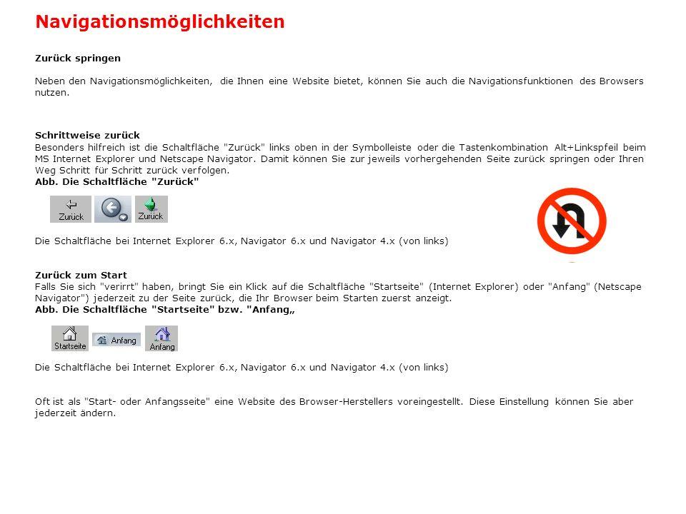 Ladevorgang wiederholen Manchmal kommt es vor, dass eine Webseite nicht korrekt oder nicht vollständig geladen wird.