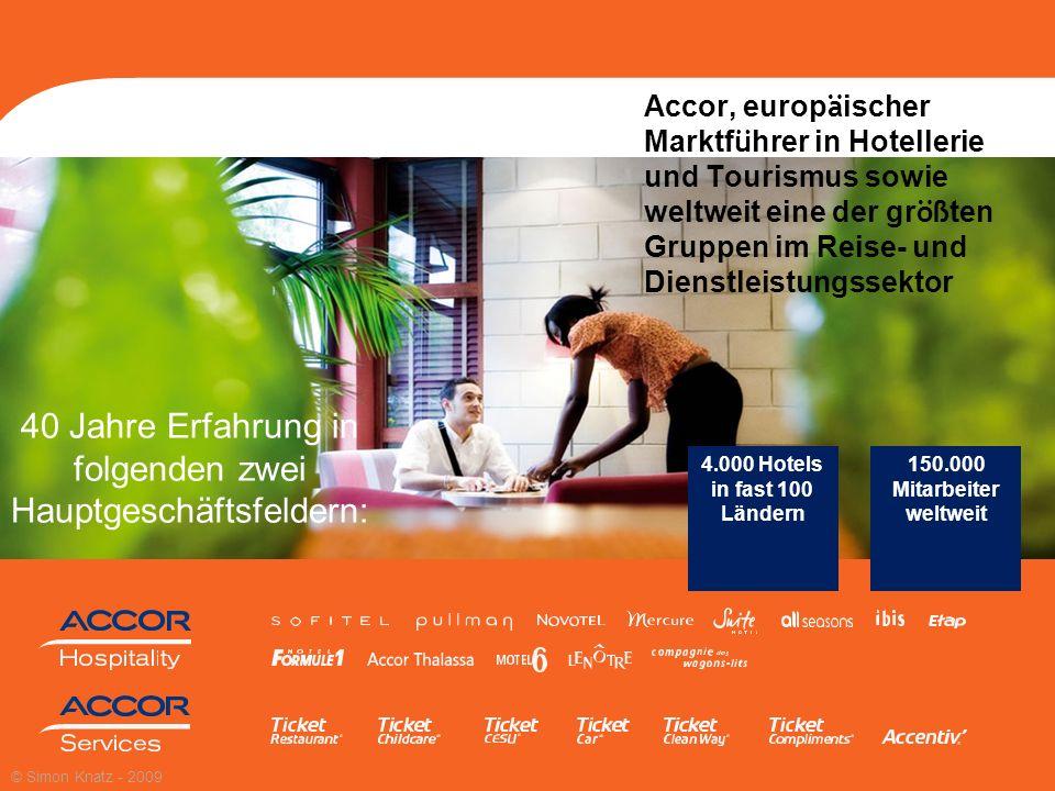 2 Accor, europ ä ischer Marktf ü hrer in Hotellerie und Tourismus sowie weltweit eine der gr öß ten Gruppen im Reise- und Dienstleistungssektor 40 Jah