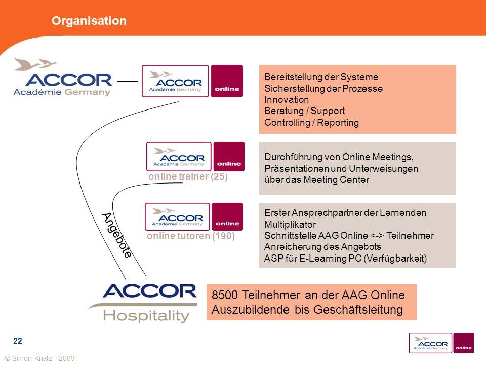 22 Organisation Bereitstellung der Systeme Sicherstellung der Prozesse Innovation Beratung / Support Controlling / Reporting Erster Ansprechpartner de