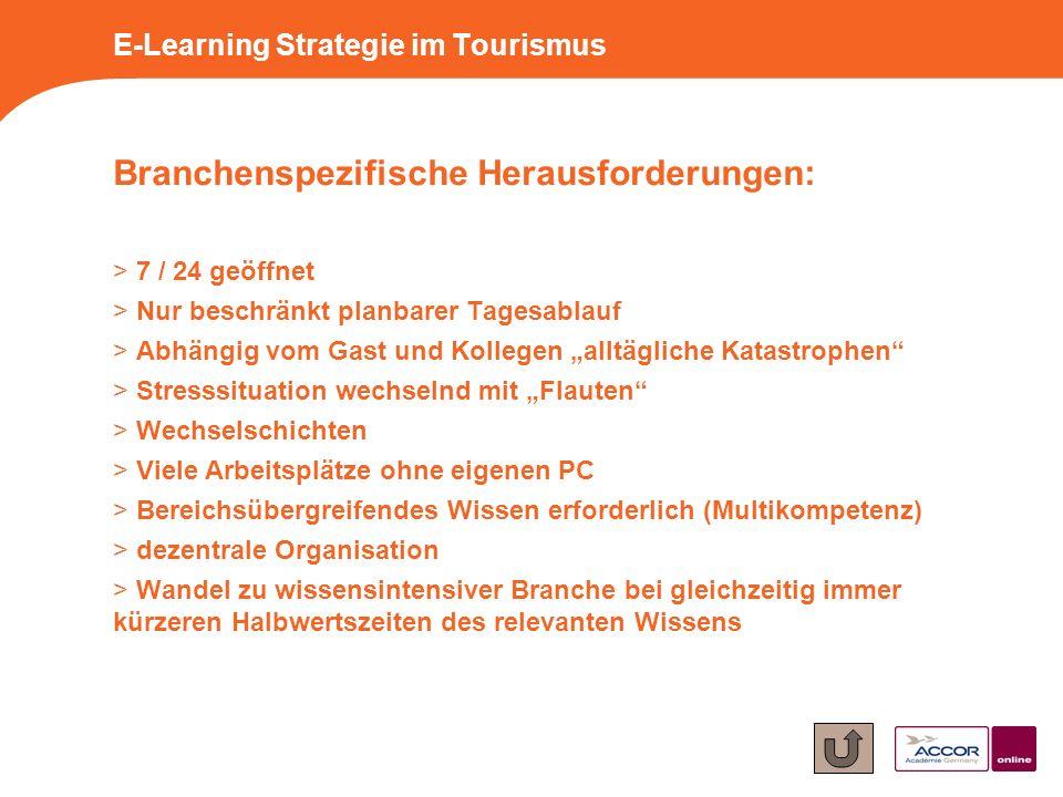 Branchenspezifische Herausforderungen: > 7 / 24 geöffnet > Nur beschränkt planbarer Tagesablauf > Abhängig vom Gast und Kollegen alltägliche Katastrop