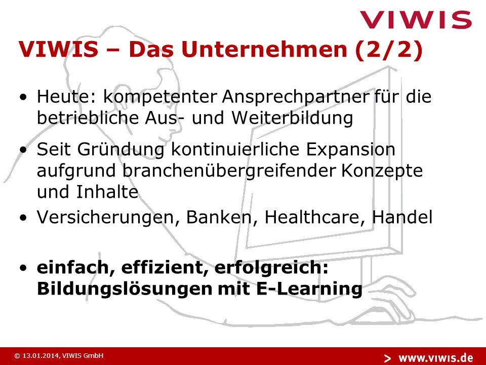 © 13.01.2014, VIWIS GmbH Investieren….