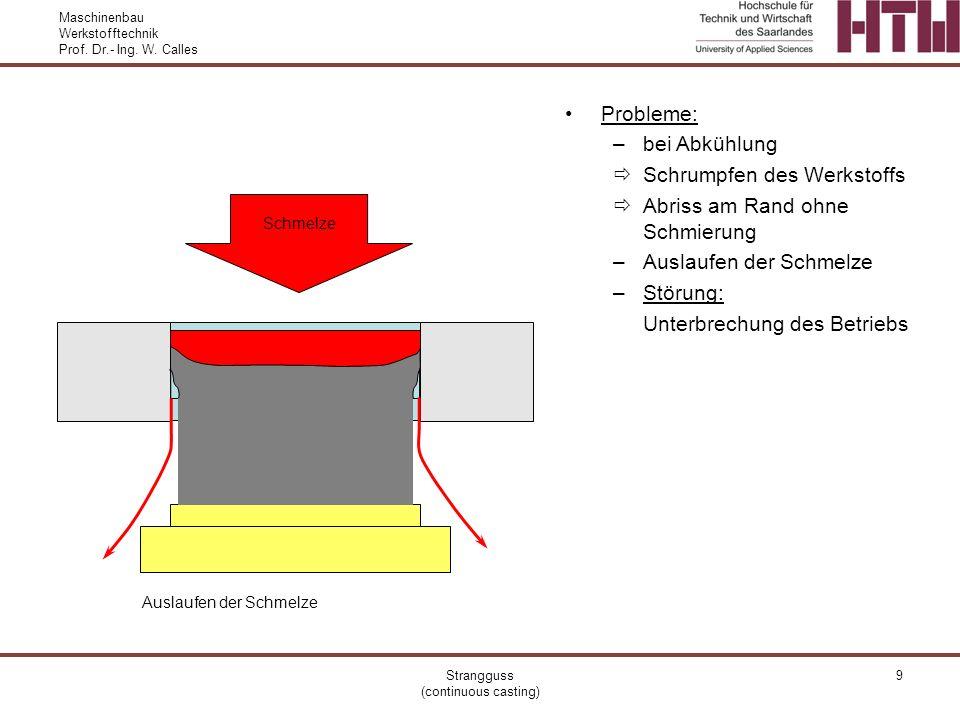 Maschinenbau Werkstofftechnik Prof.Dr.- Ing. W.