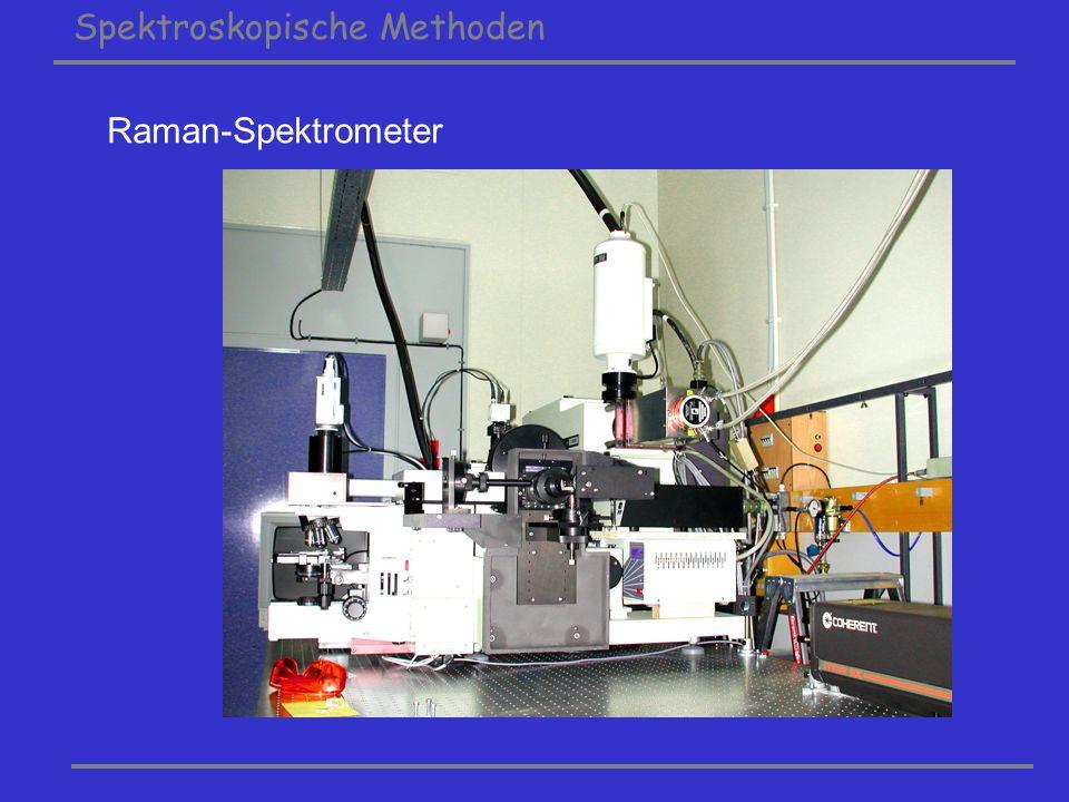 Spektroskopische Methoden Raman-Spektrometer