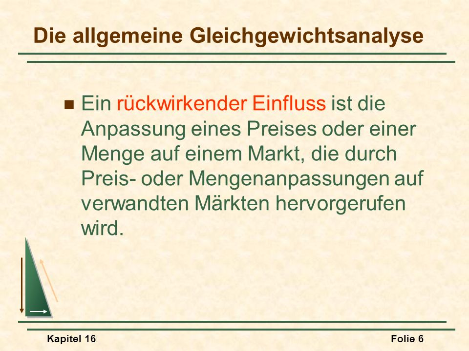 Kapitel 16Folie 37 Effizienz beim Tausch Bemerkungen bezüglich C: 3)Wenn sich die Indifferenzkurven nicht berühren, würde es zu einem Tauschhandel kommen.