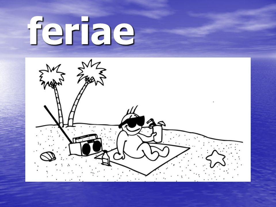feriae feriae