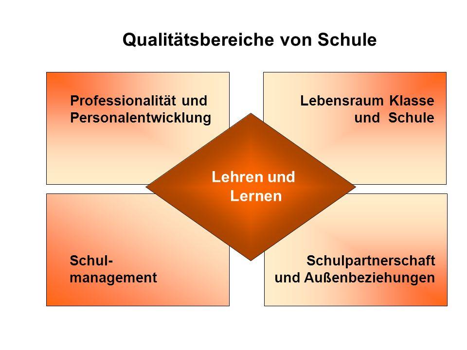 Gesetzlicher Rahmen SCHULE Schulprogramm Selbstevaluation Fremdevaluation SCHULSYSTEM Krisenintervention Internationale Untersuchungen System- Monitor