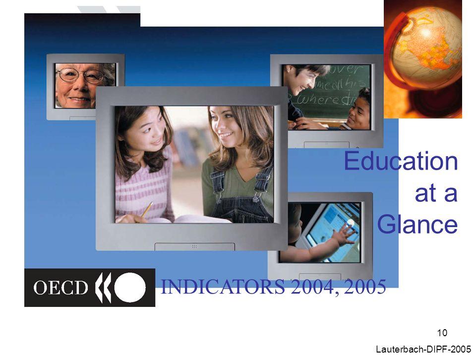 10 Lauterbach-DIPF-2005 Education at a Glance INDICATORS 2004, 2005